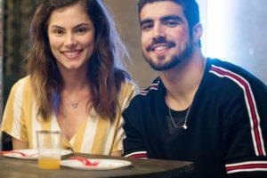 Joana (Bruna Hamú) e Rock (Caio Castro) transam pela primeira vez em A Dona do Pedaço (Reprodução: TV Globo)