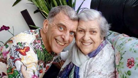 Jorge Fernando e sua mãe, Hilda Rebello (Foto: Reprodução/Instagram)