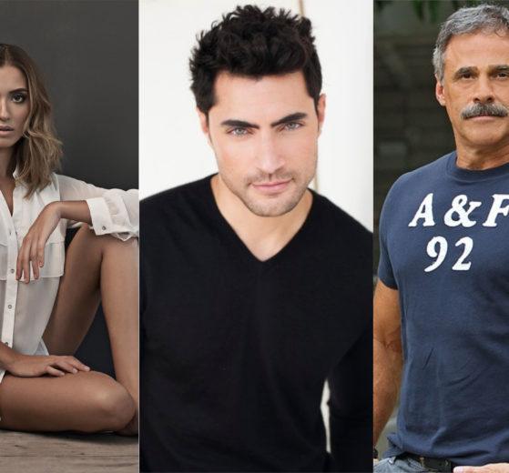 Juliana Boller. Carlo Porto e Oscar Magrini estão confirmados em Gênesis da Record TV (Montagem: TV