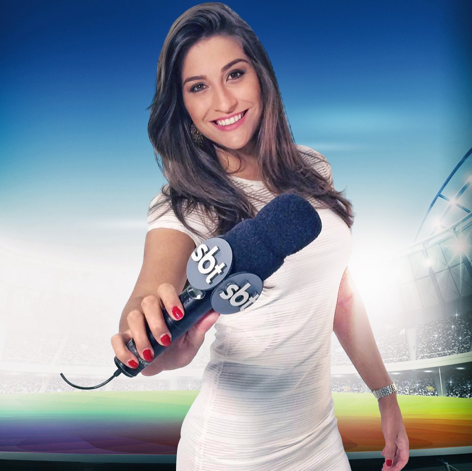 Kalllyna Sabino foi demitida do canal do Homem do Baú (Foto: Reprodução/Twitter)