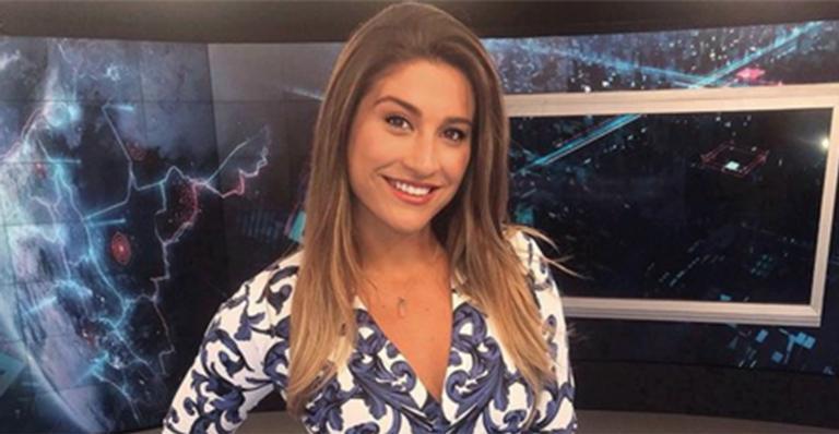 Kallyna Sabino lamentou saída do SBT (Foto: Divulgação)