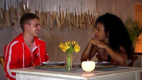 Léo Picon e MC Rebecca são eliminados do De Férias com o Ex Celebs da MTV (Reprodução: MTV Brasil)