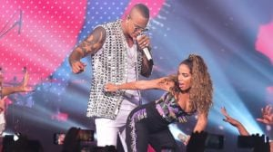 Léo Santana e Anitta gravam DVD juntos (Reprodução: Internet)