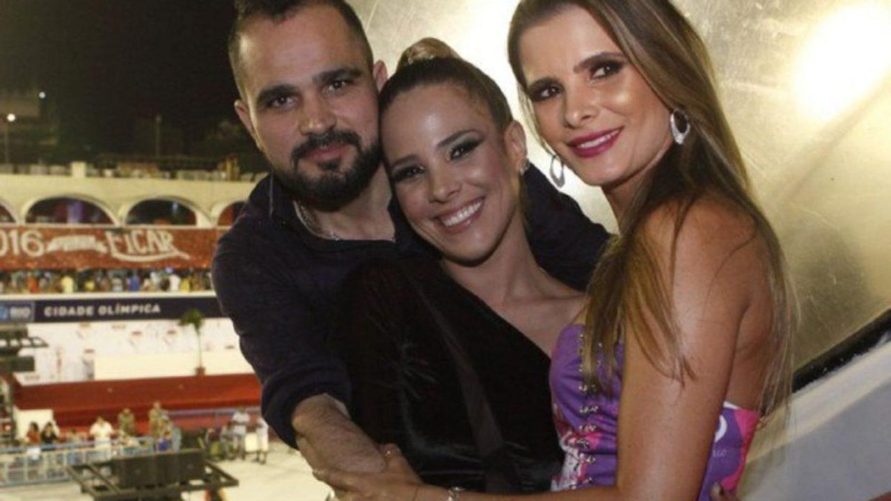 Wanessa Camargo, Luciano e Flávia Camargo 2019 (Foto: Reprodução) Bruna Marquezine