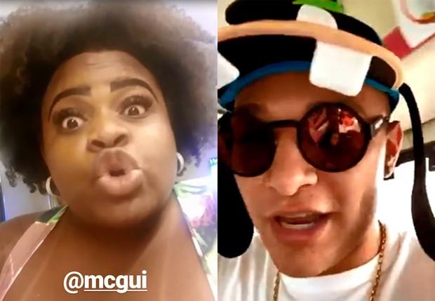 Jojo Todynho detona Mc Gui após vídeo de canto praticando bullying em uma menina no parque da Disney (Imagem:Reprodução)