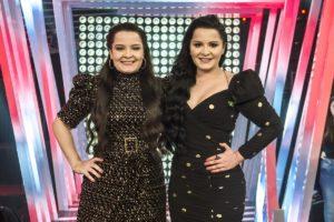 Maiara e Maraisa comandam o Só Toca Top da Rede Globo (Reprodução: TV Globo)