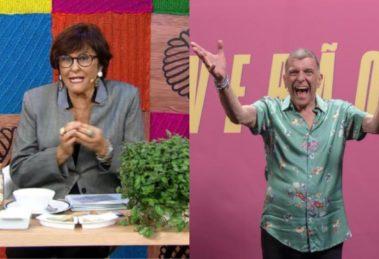 Márcia Sensitiva e Jorge Fernando (Foto: Reprodução/RedeTV!/Globo/Montagem TV Foco)