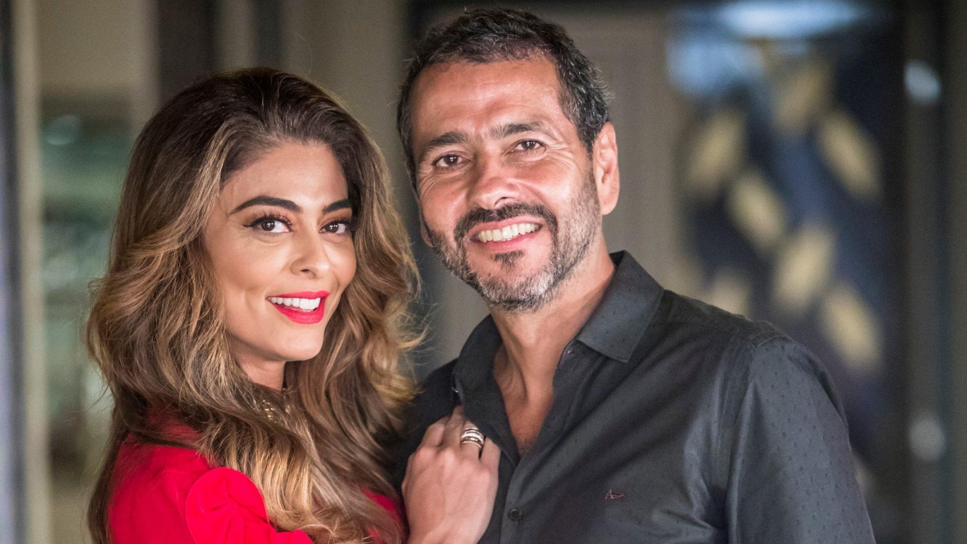 Maria da Paz (Juliana Paes) e Amadeu (Marcos Palmeira) em A Dona do Pedaço (Reprodução: TV Globo)