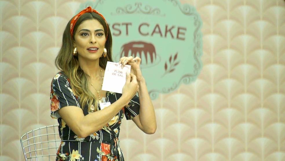 Maria da Paz (Juliana Paes) não continua no Best Cake de A Dona do Pedaço (Reprodução: TV Globo)