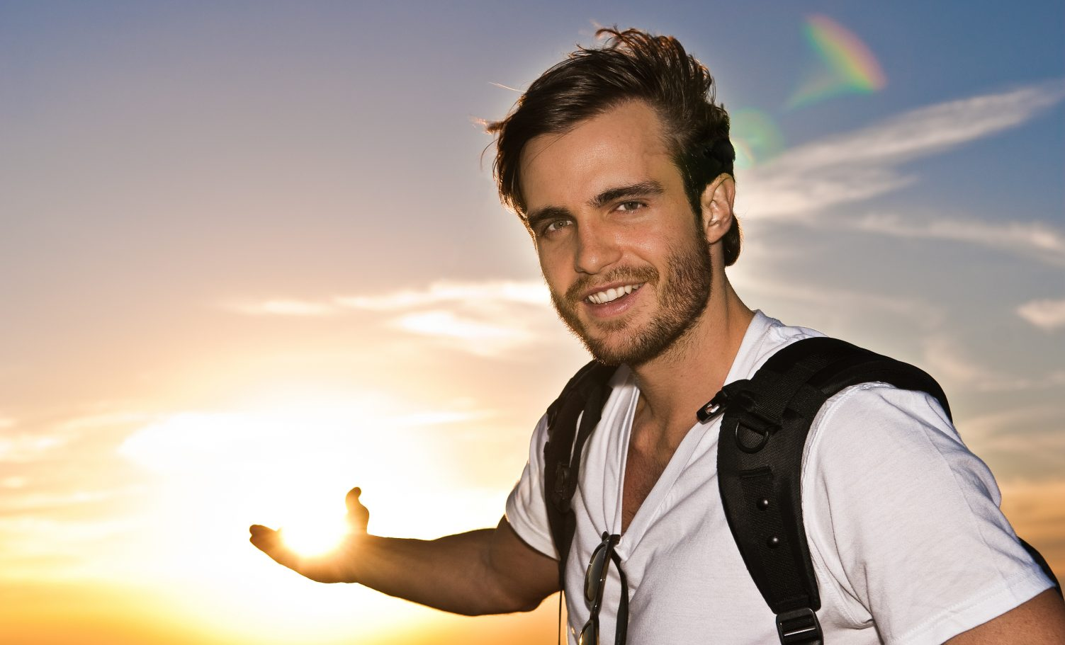 O ex-galã de Malhação, Max Fercondini (Imagem: Instagram)