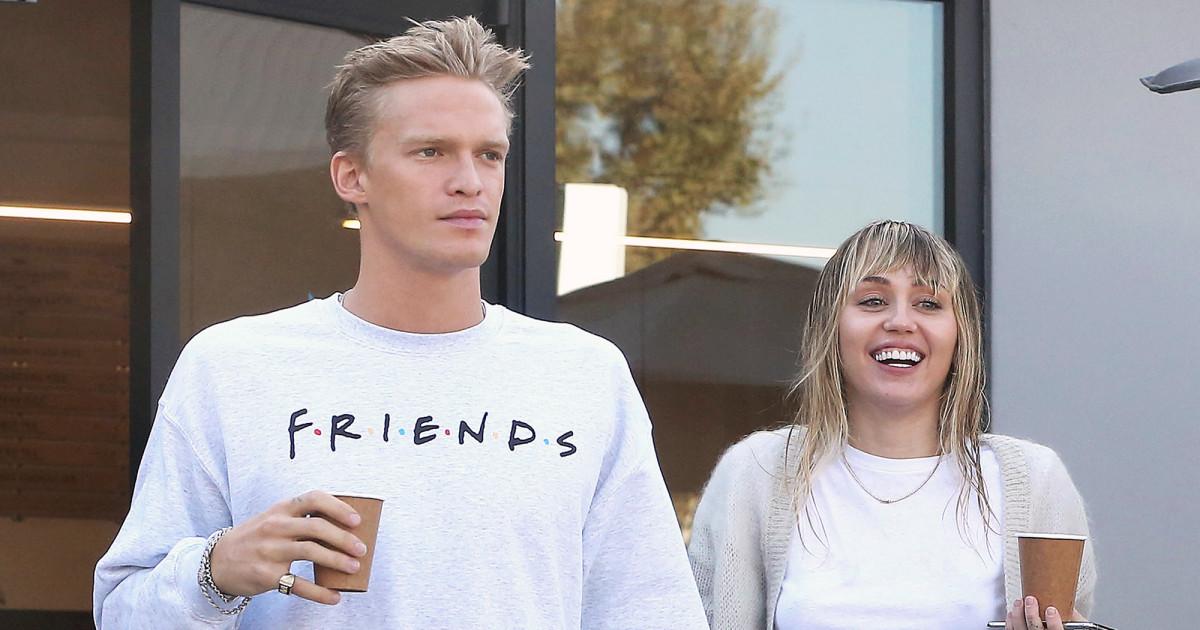 Miley Cyrus e Cody Simpson (Foto: Reprodução)