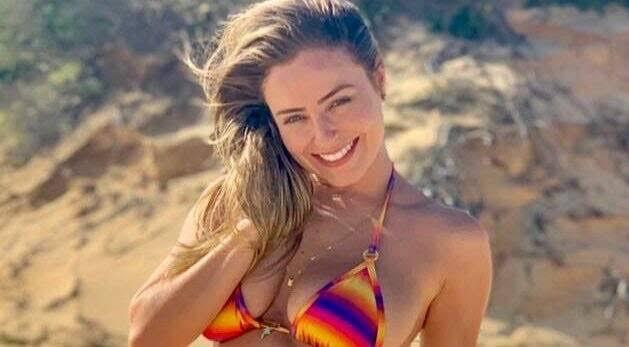Paula von Sperling apareceu completamente nua em seu perfil no Instagram (Foto: Reprodução)