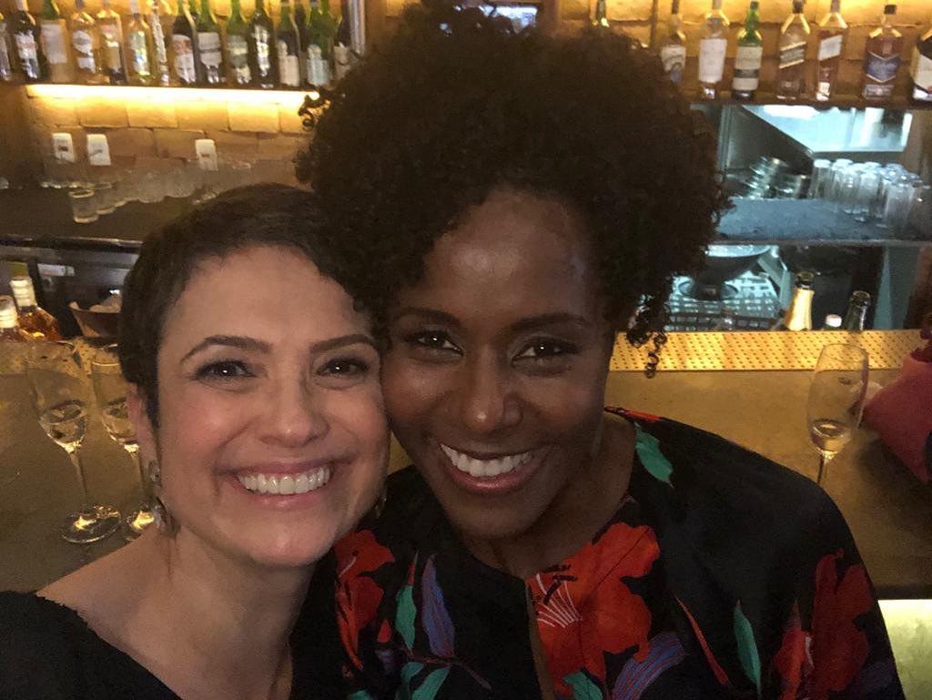 Sandra Annenberg foi substituída por Maju Coutinho no Jornal Hoje (Foto: Reprodução/Instagram)