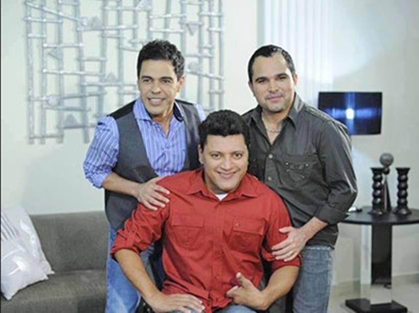 Os irmãos Camargo Zezé, Wellington e Luciano. Foto: Reprodução