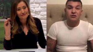 A contratada da RedeTV! e apresentadora do programa A Tarde É Sua, Sonia Abrão acabou com o cantor, MC Gui (Foto; Montagem TV Foco)