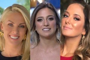 Tati Dias de A Fazenda 11 deixa Ana Hickmann e Ticiane Pinheiro sem graça no Hoje em Dia (Montagem: TV Foco)
