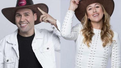 Viny Vieira e Bifão flertam dentro de A Fazenda 11 (Montagem: TV Foco)