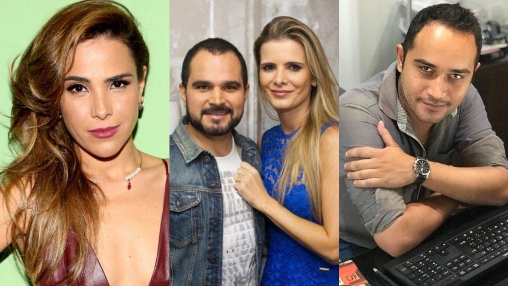 Wesley Camargo, Wanessa Camargo, Luciano Camargo e Flávia Camargo (Foto: Divulgação/Instagram/Montagem TV Foco)