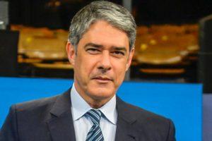 Apresentador do Jornal Nacional da Globo, William Bonner se afasta das telinhas (Foto: Reprodução)