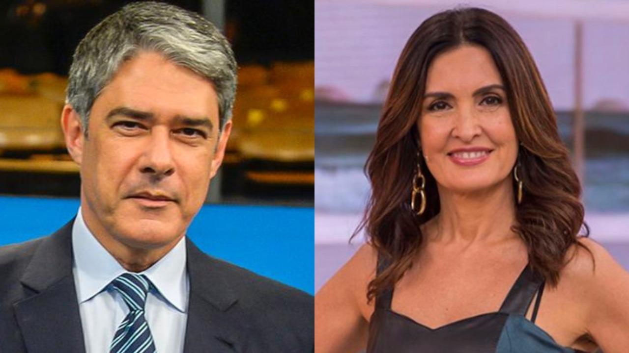 William Bonner e Fátima Bernardes (Foto: Reprodução/TV Globo/Montagem TV Foco)