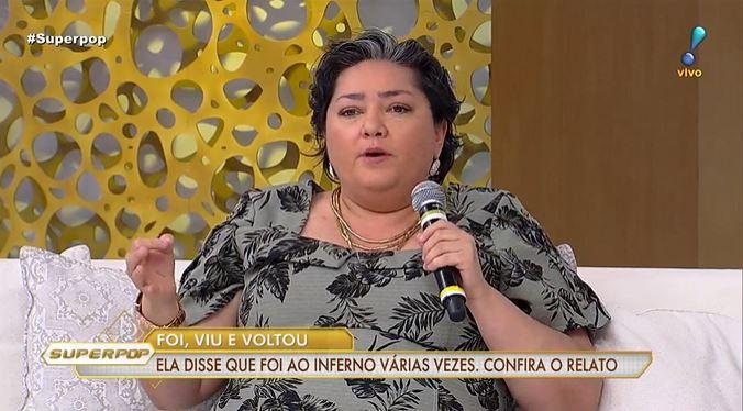 Yolanda Santos (Foto: Reprodução/RedeTV!)