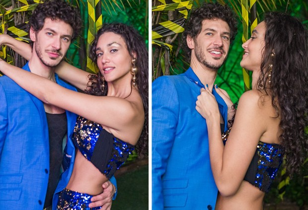 Débora Nascimento e seu novo namorado, Luíz Perez. Foto: Reprodução
