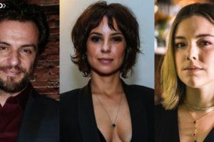 Andreia Horta, Rodrigo Lombardi e Alice Wegmann são estrelas de Globo