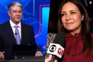 William Bonner do Jornal Nacional enalteceu a nova produção da Globo de Adriana Esteves em Amor de Mãe