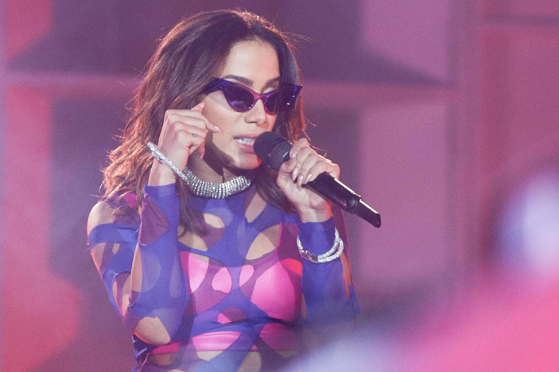 A cantora Anitta foi trocada por Bolsonaro pelo público (Foto: Divulgação)