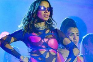 A cantora Anitta durante show no Rock in Rio (Foto: Fábio Cordeiro/Gshow)