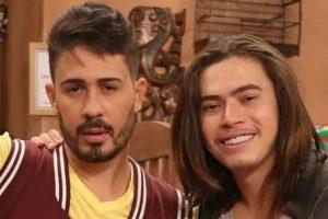 Whindersson Nunes e Carlinhos Maia faziam o reality Os Roni juntos (Foto: Reprodução)