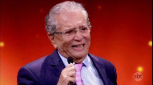 Carlos Alberto de Nóbrega é apresentador do SBT (Foto: Reprodução)