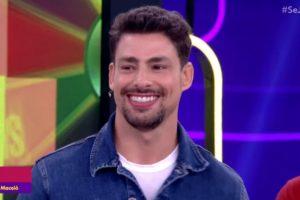 Cauã Reymond foi um dos convidados do Se Joga da Globo