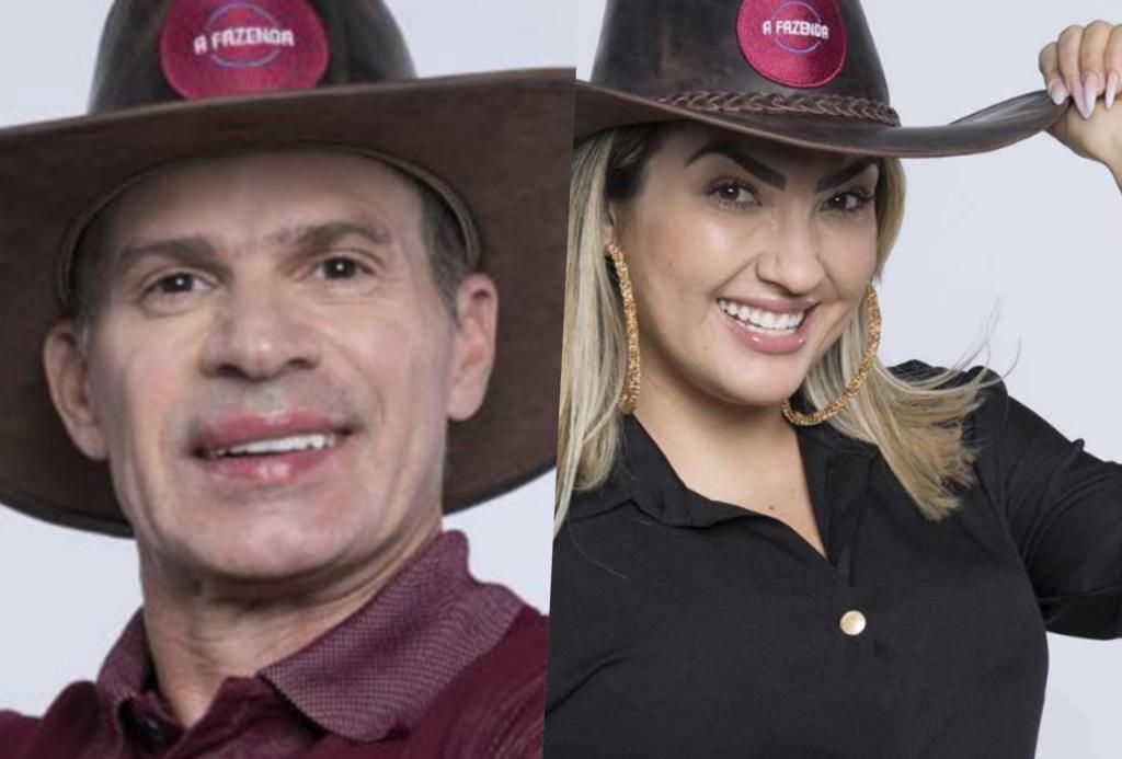 Túlio Maravilha e Thayse Teixeira estão na roça da Fazenda 11. Vote e escolha quem deve ficar no programa comandado por Marcos Mion