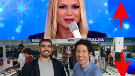 Coluna Subiu, desceu de hoje traz Eliana arrebentando no Teleton 2019 e Globo passa dos limites com A Dona do Pedaço