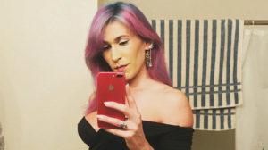 A atriz Daphne Dorman fez um texto em suas redes sociais e minutos depois cometeu suicídio (Foto: Reprodução)
