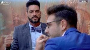 Diego e Guilherme discutem em A Fazenda 2019 (Foto: Reprodução)