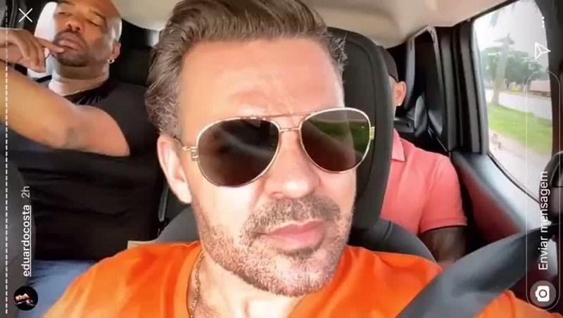 Eduardo Costa voltou a causar polêmica na mídia (Foto: Reprodução/ Instagram)