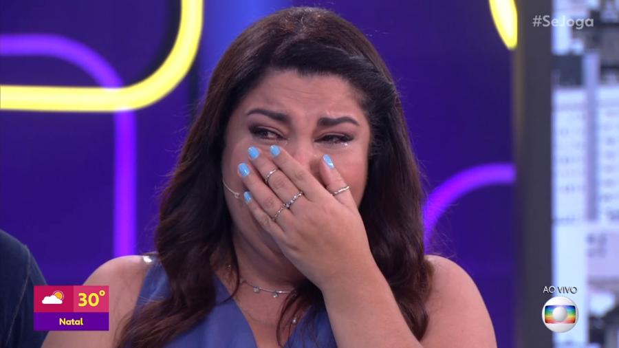 A famosa apresentadora do Se Joga da Globo, Fabiana Karla fala sobre perrengue que passou após alisamento (Foto: Divulgação)