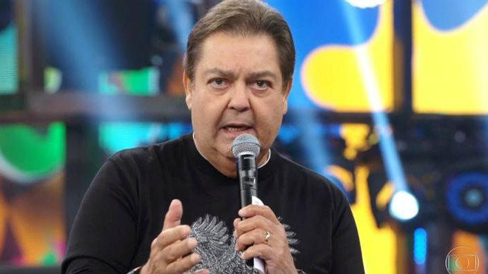 O apresentador Faustão fez crítica a colegas da Globo (Foto: Reprodução)