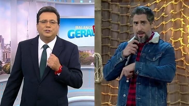 Geraldo Luis, Marcos Mion, A Fazenda