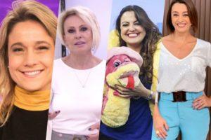 Fernanda Gentil, Mais Você, Venenosa e Catia Fonseca na Band são os destaques do Boletim da Audiência de hoje (Foto montagem)