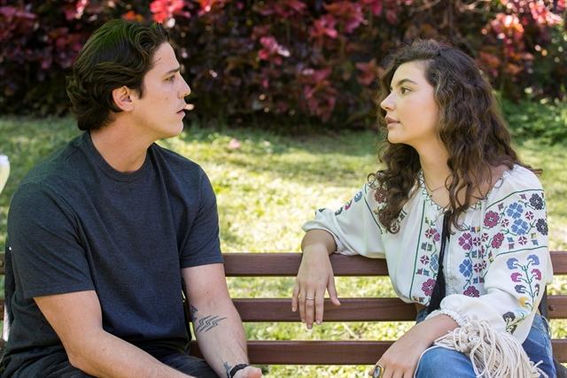 Rui (Romulo Arantes Neto) e Rita (Alanis Guillen) em Malhação: Toda Forma de Amar (Foto: Globo/Raquel Cunha)