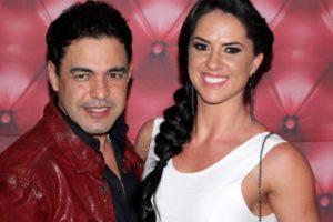 Graciele Lacerda e Zezé Di Camargo (Foto: Reprodução/AgNwes)
