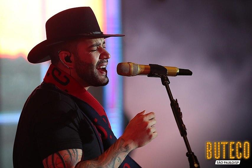 Gusttavo Lima tem feito sucesso com o seu show, o Buteco (Foto: Reprodução/ Instagram)