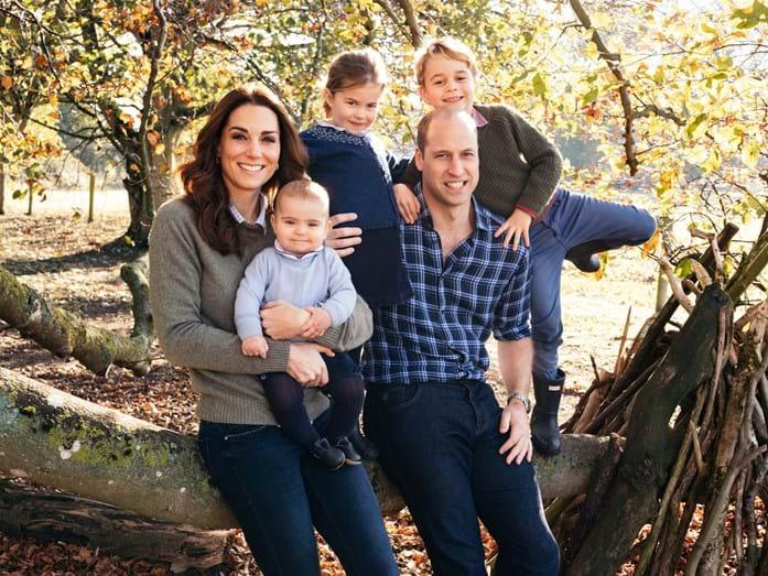 Príncipe William, Kate Middleton e filhos (Foto: Reprodução)