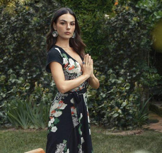 A atriz Ísis Valverde surpreendeu (Foto: Karine Basilio)