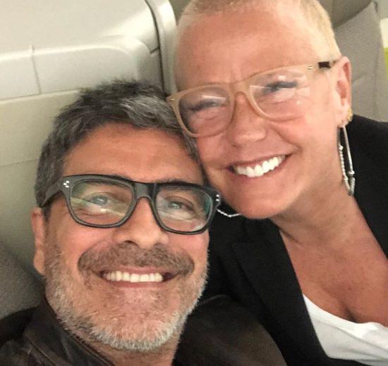 O marido da apresentadora da Record, Xuxa Meneghel, Junno Andrade se recupera de acidente (Foto: Reprodução/Instagram)