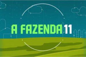 Logo do reality rural A Fazenda 11, exibido pela Record TV e apresentado por Marcos Mion (Foto: reprodução)
