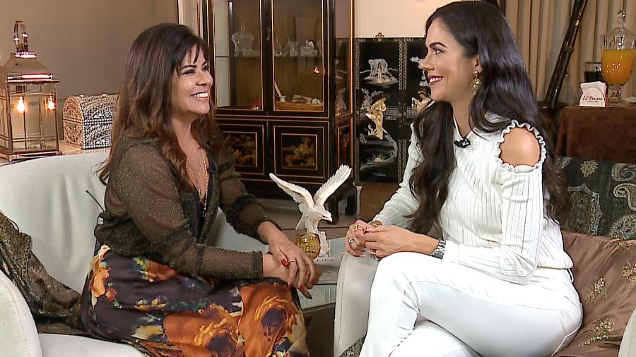 Mara e Daniela Albuquerque (Foto: Divulgação/RedeTV!)